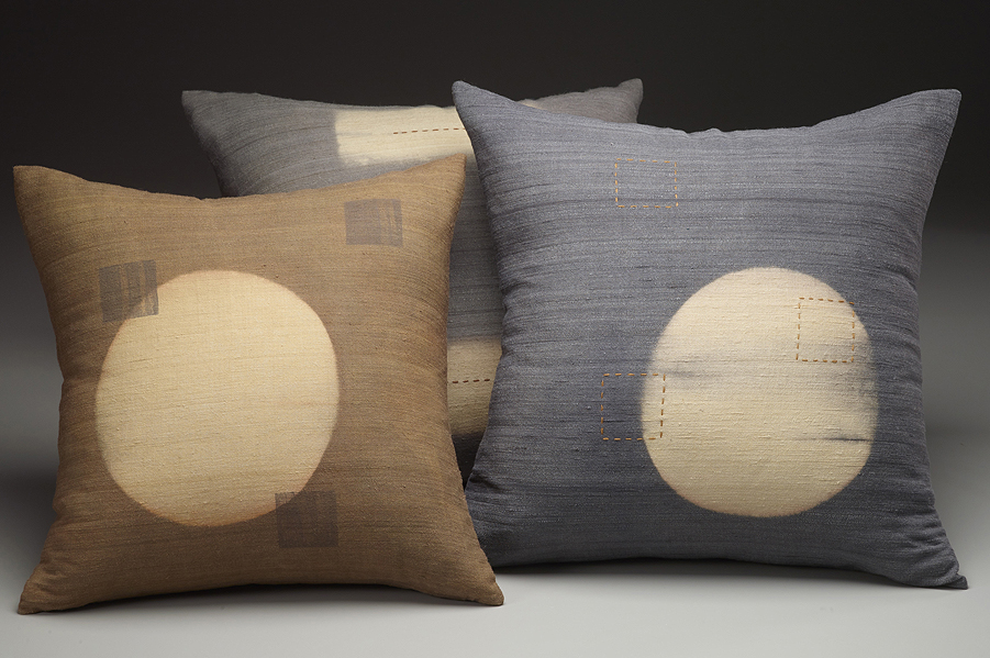 Silk Pillows, 2014. Photography by Steve Mann