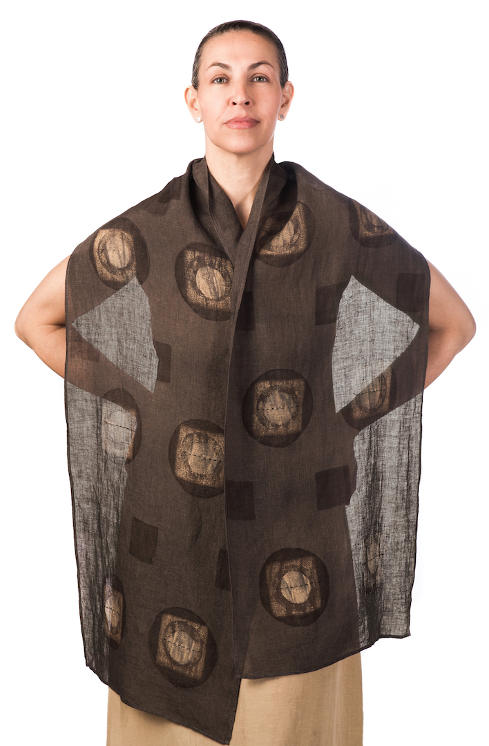 S H A W L S    A dramatic addition to a contemporary wardrobe, these shawls add a touch of color and pattern for formal or casual wear. Artfully draped or elegantly wrapped, these shawls define a look and sense of style.