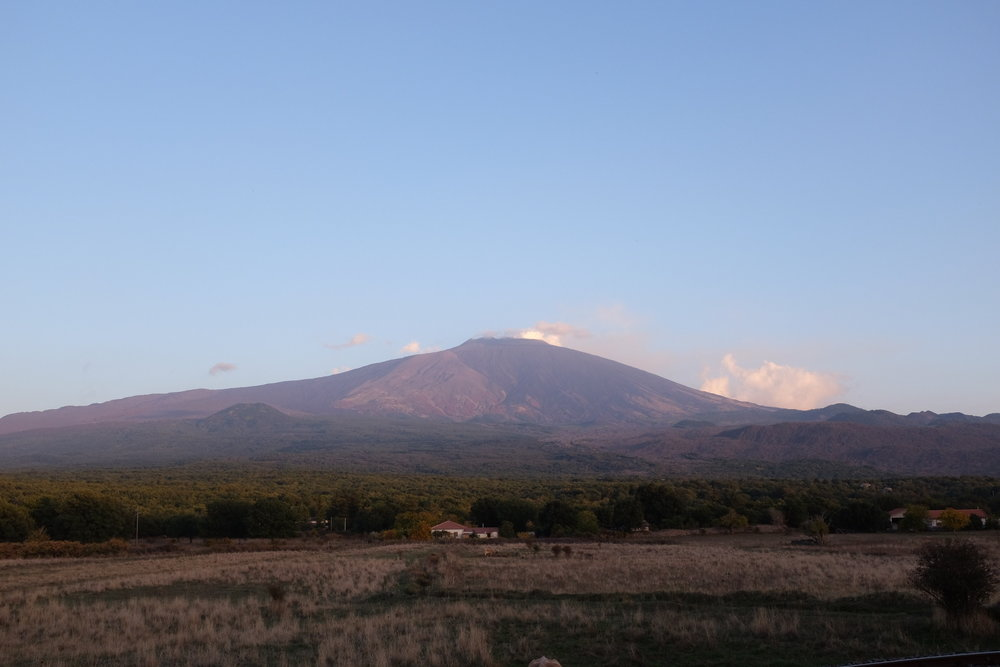 Mt.Etna: Surprisingly cold for a volcano