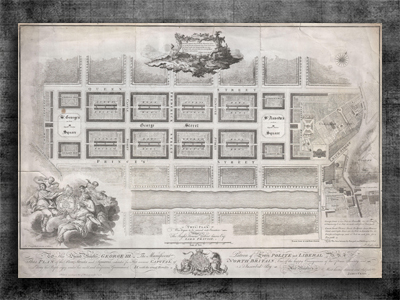 James Craig's plan for the Edinburgh New Town, 1767, Historic Environment Scotland, SC466310
