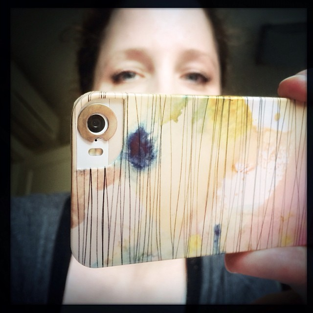my favorite iPhone 5s case - STRIPY COLLAGE