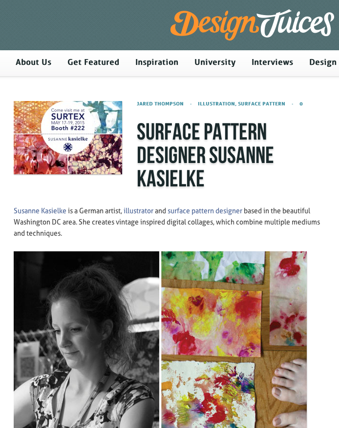 http://www.designjuices.co.uk/2015/04/surface-pattern-designer-susanne-kasielke/
