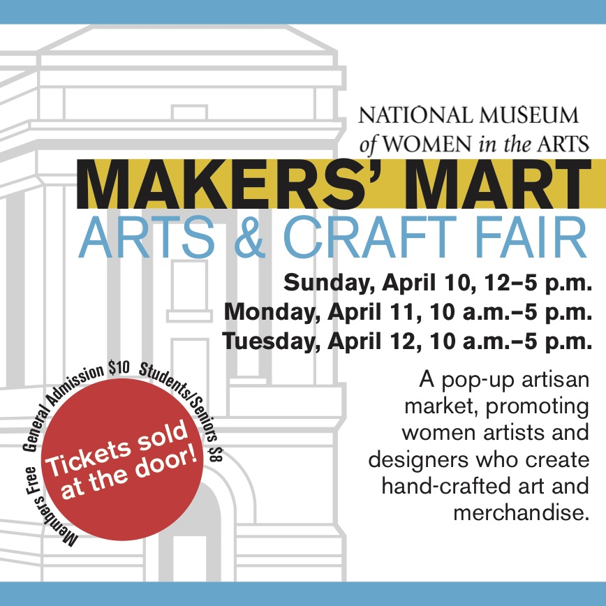 http://nmwa.org/events/makers-mart-arts-craft-show