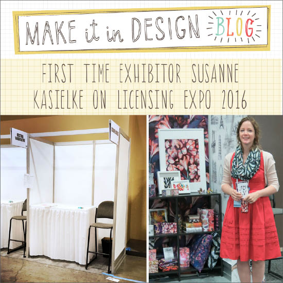 Guest post on the  MIID blog  about Susanne's Licensing Expo experience including 6 tips for first time exhibitors.   Click here to read  , 10/2016