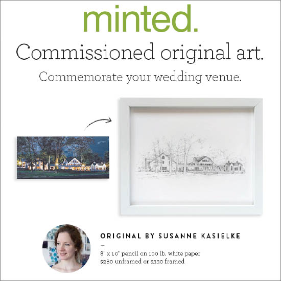 Minted: email feature of commissioned original art, 10/2016
