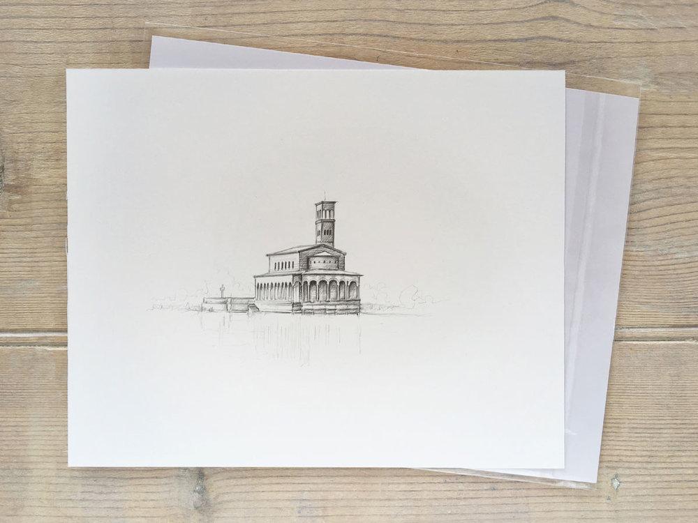 Beispiel ungerahmte Illustration 250 EUR