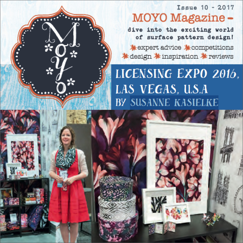 MOYO Magazine, issue 10: guest article about Susanne's trade show review. Click here to read, 04/2017