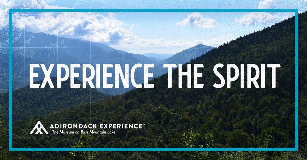 Adirondack Experience branded photo of Adirondack State Park Mountain Range