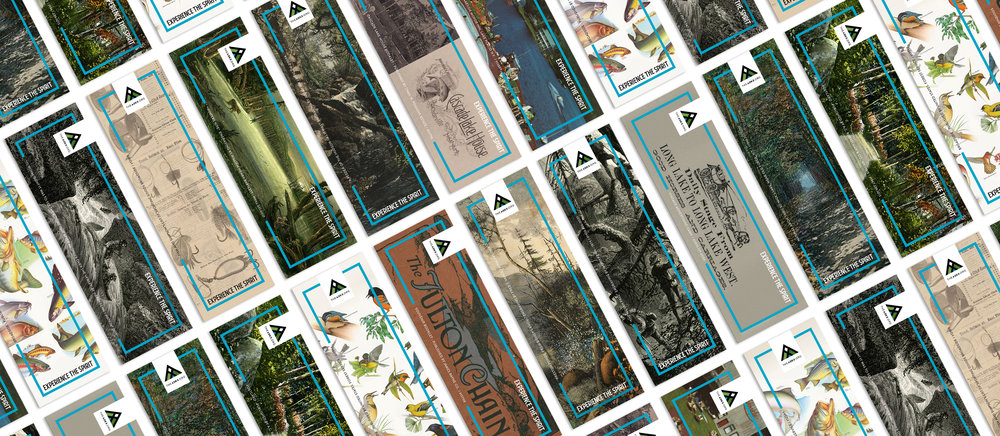 2018 Adirondack Experience historical graphic bookmarks