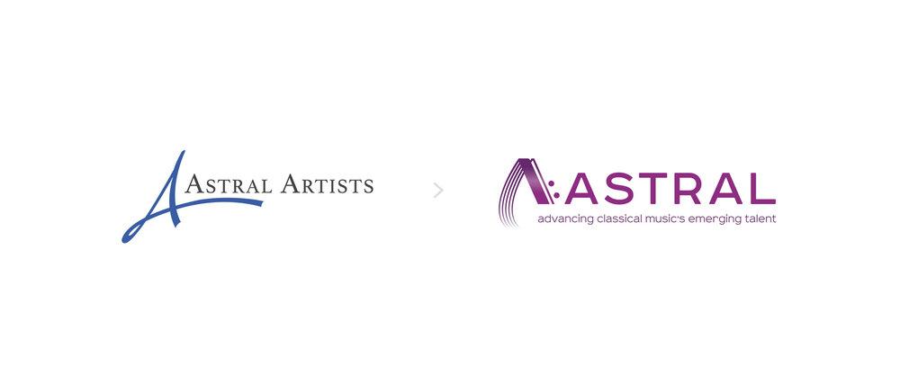 Astral logo rebrand graphic