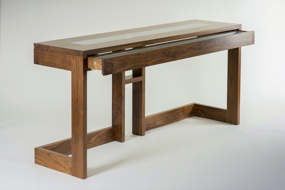 The Glamorous Butler console table - keeping your secrets