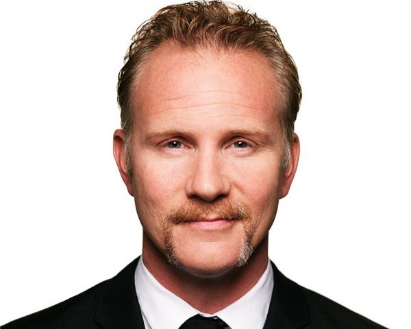 Morgan Spurlock is an American documentary filmmaker, humorist, television producer, screenwriter, and political activist, best known for the documentary films Super Size Me, Where In The World Is Osama Bin Laden, POM Wonderful Presents: The Greatest Movie Ever Sold, Comic-Con Episode IV: A Fan's Hope and One Direction: This Is Us. Spurlock was the executive producer and star of the reality television series 30 Days. As of June 2013, Spurlock hosts and produces the CNN show Inside Man and is the co-founder of short-film content marketing company cinelan, which produced the Focus Forward campaign for GE.