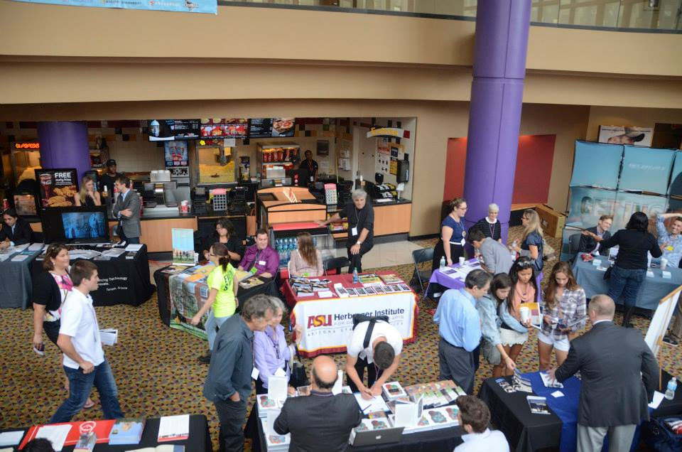 A look in at our college fair that hosted 18 film schools from across the country.