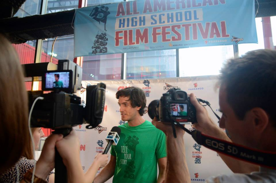 MTV News interviews festival founder Andrew Jenks.