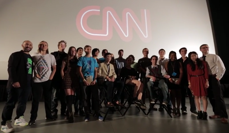 Our friends at CNN gave a $1,000 scholarship to the winner of Best Documentary and will play his/her documentary on CNN Films new innovative website.