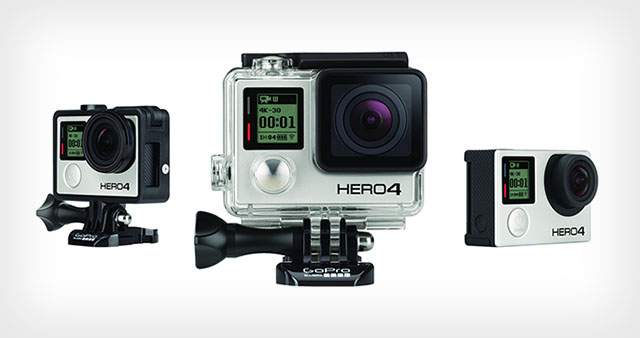 GoPro will be giving away 13 brand new GoPro Hero4 cameras throughout the weekend!