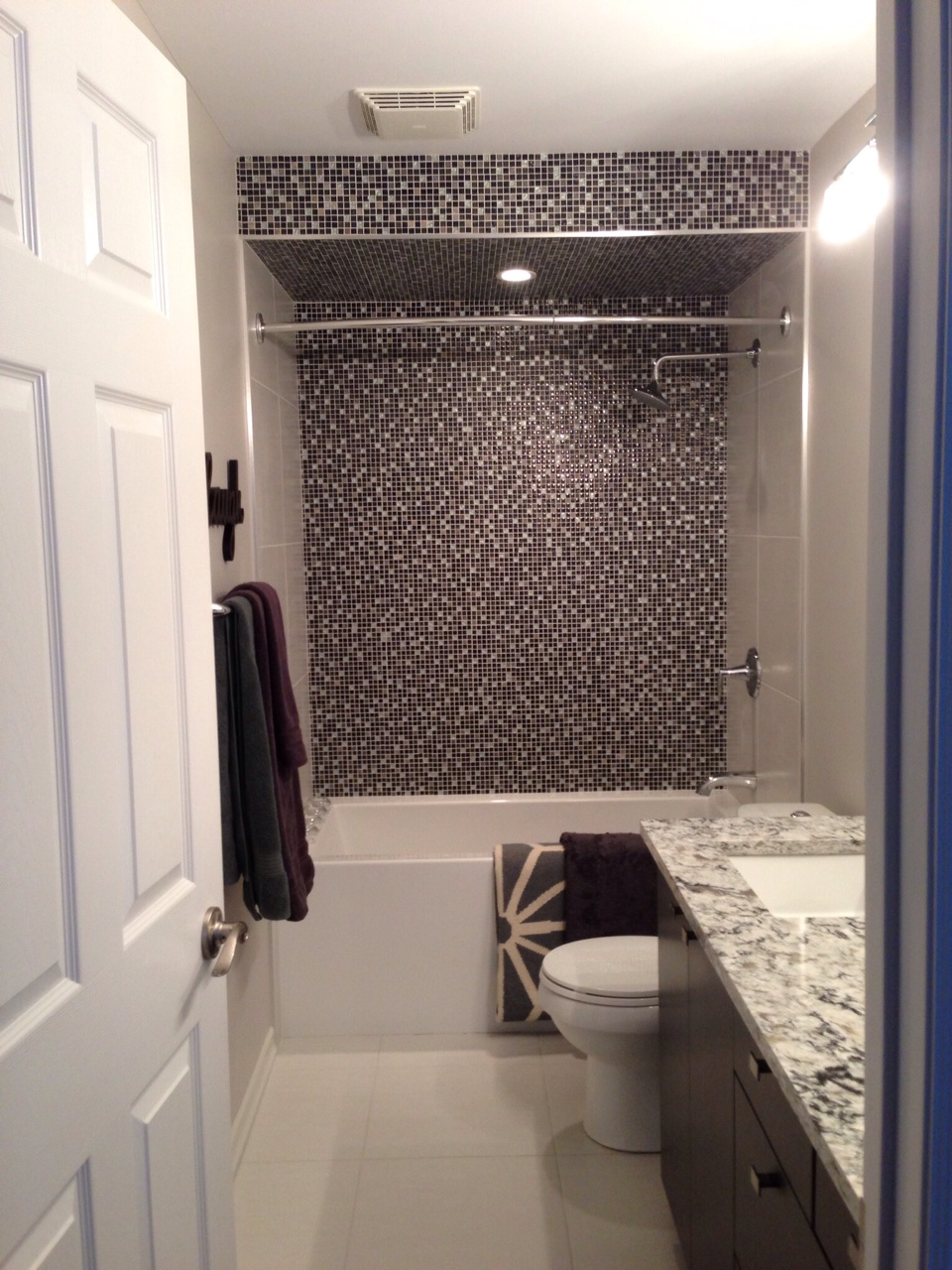 design shop custom shower - mini tile - winnipeg.JPG