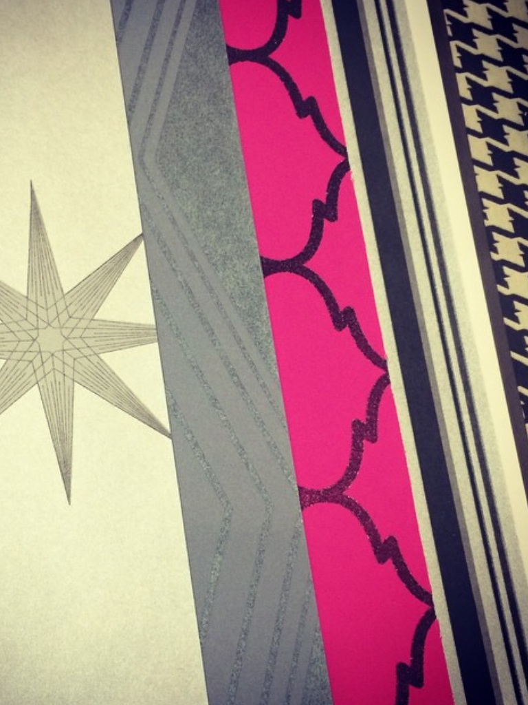 graphics, sparkles, bold pinks.. yep, we heart prints + patterns anything that pretty much screams FUN.