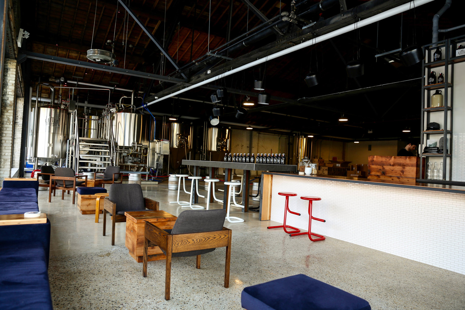 Congrats to one of our faves littlebrownjugbrewing for letting us be your design girls to prairiearchitects for bringing on to work on the tap room