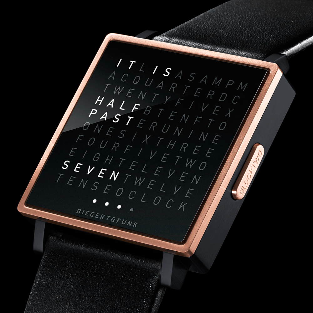 qlocktwo w watch designed by convopiece convopiece. Black Bedroom Furniture Sets. Home Design Ideas