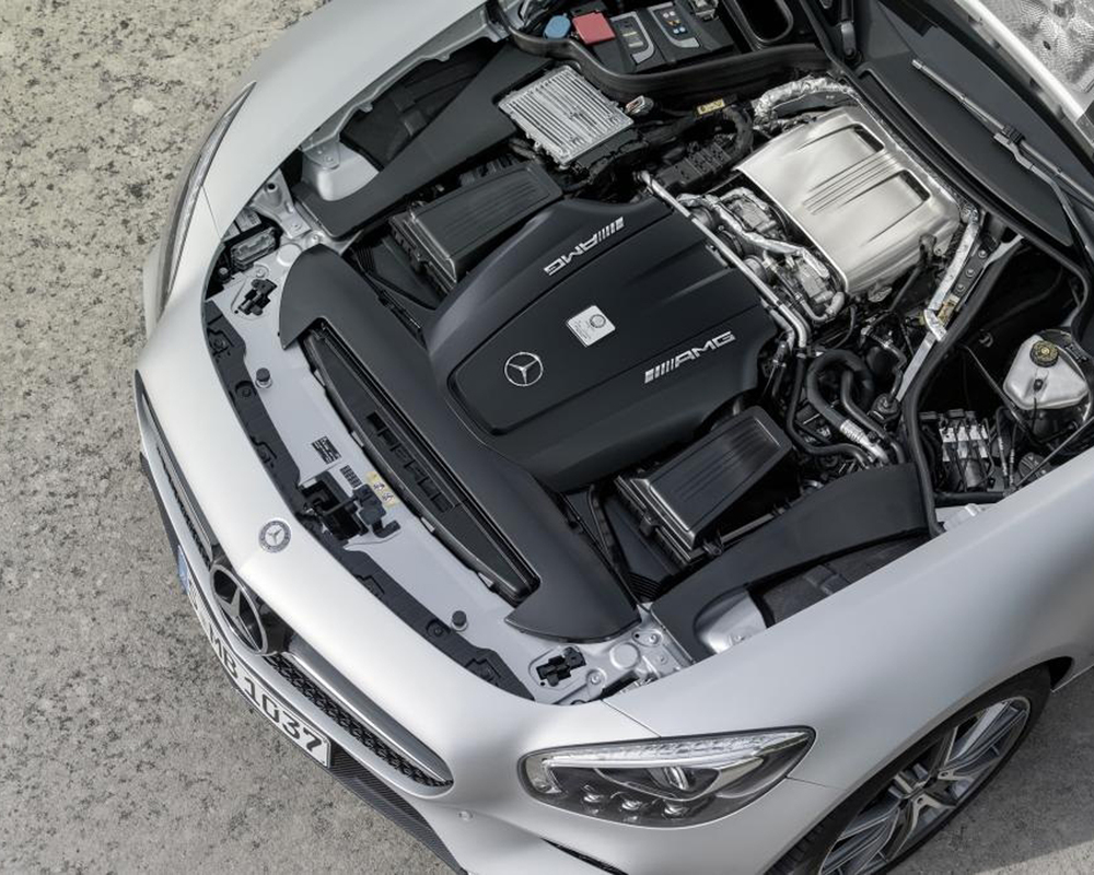 MERCEDES AMG GT ENGINE