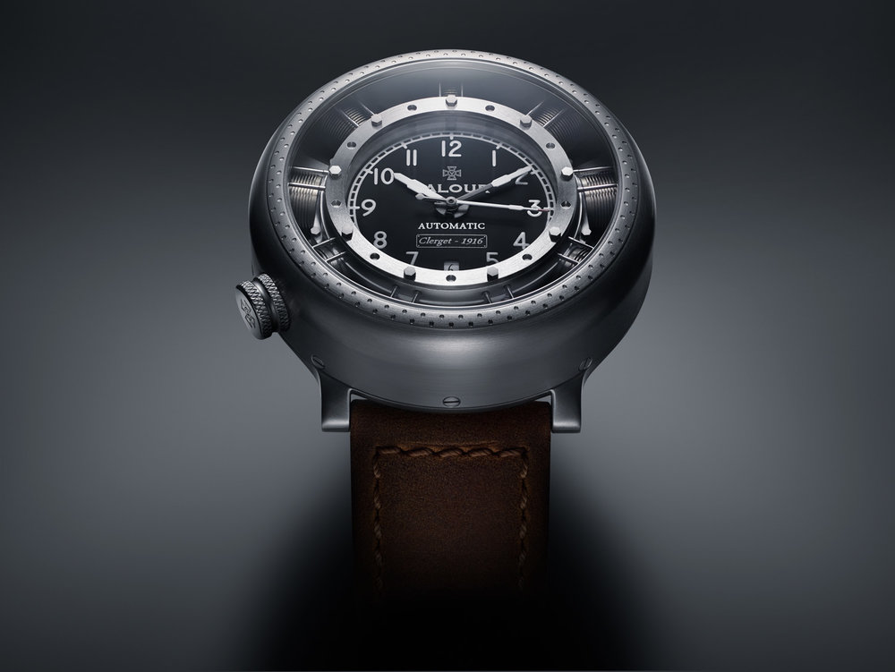 The original watch was inspired by the WW1 Plane the Sopwith Camel