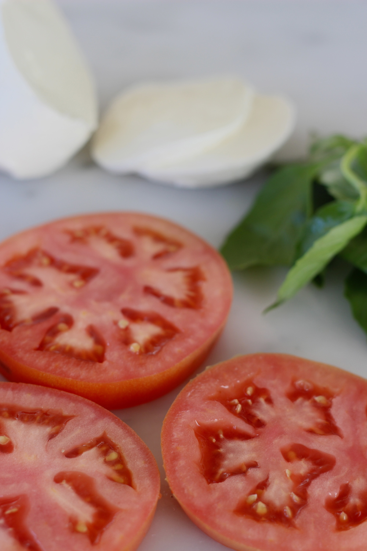 tomato, mozzarella, basil | half galley kitchen