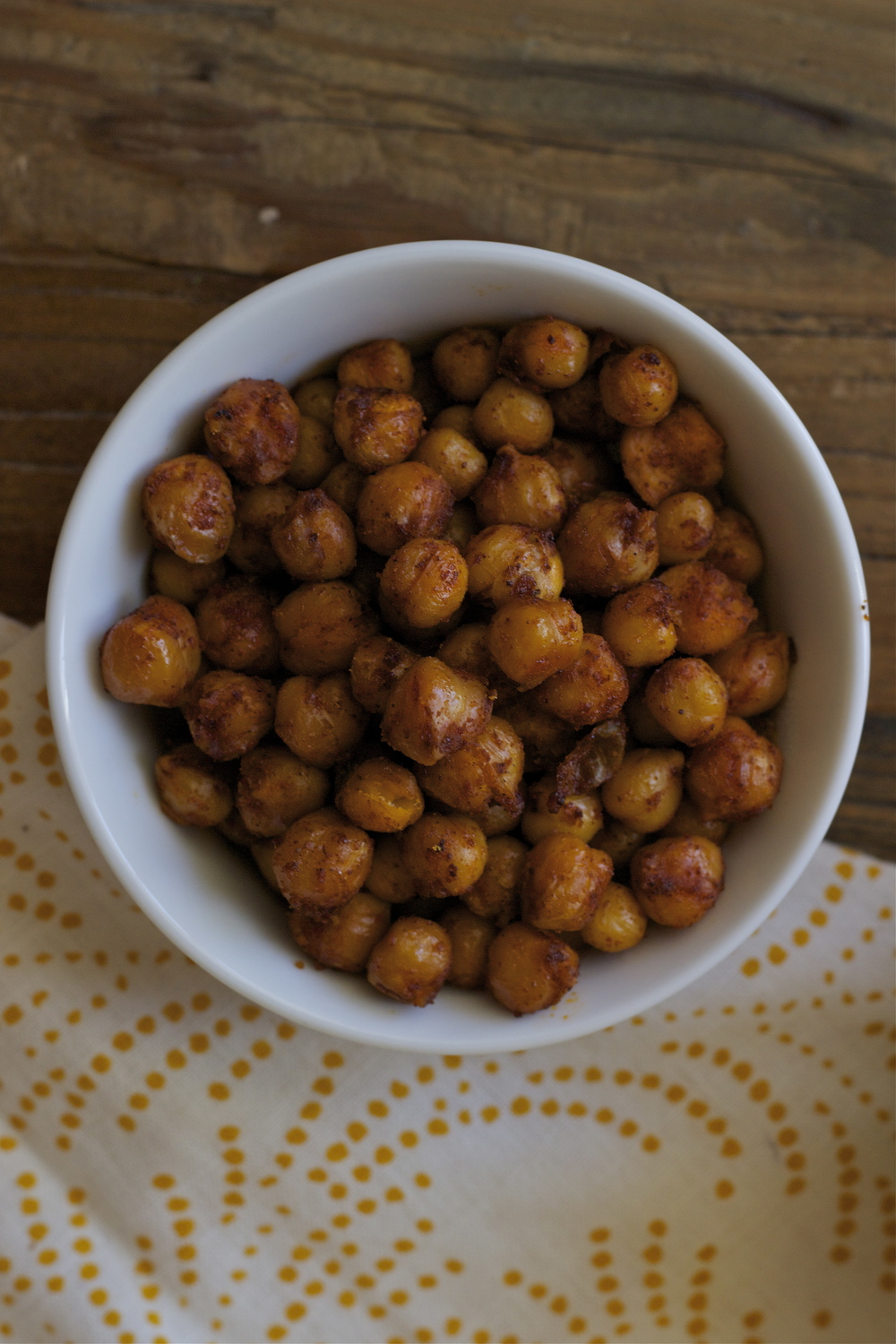 chili-lime roasted chickpeas    half galley kitchen