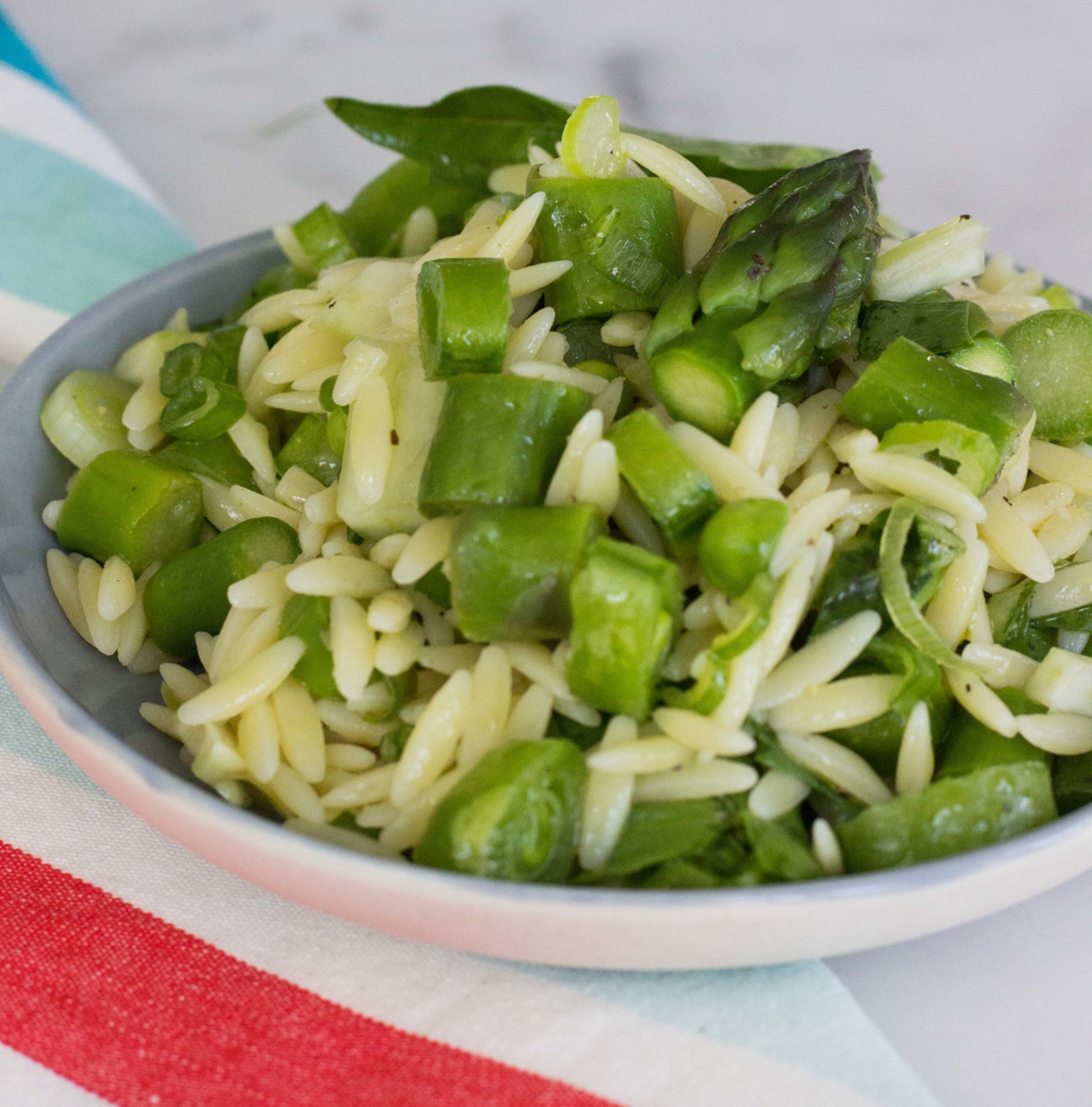 spring orzo salad {half galley kitchen}