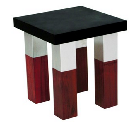 Gentil Kenji Continued The Mixed Material Theme In Their Benches And Stools. Like  The Dining Tables, The Benches Can Be Purchased In Three Different Sizes,  ...