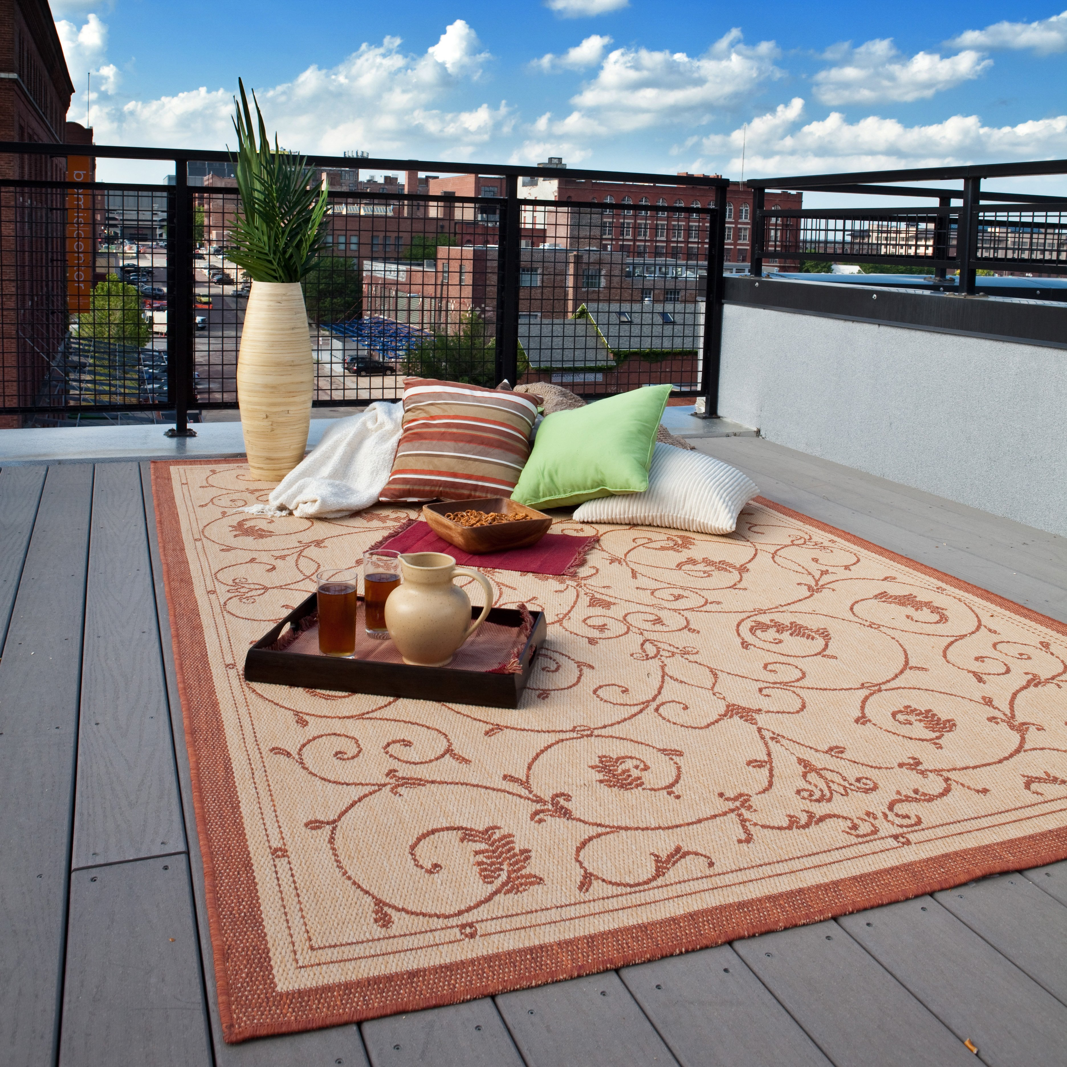 Enhancing Your Outdoor Living Space With An Outdoor Rug U2014 Didriks