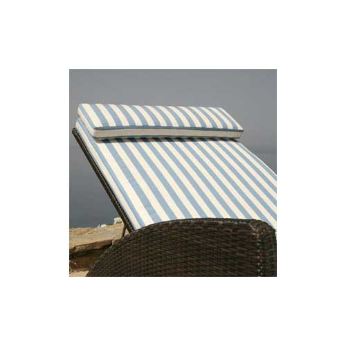 Sky Blue Striped Barlow Tyrie Cushion Colors