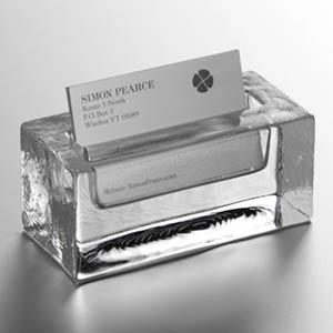 Simon Pearce Business Card Holder