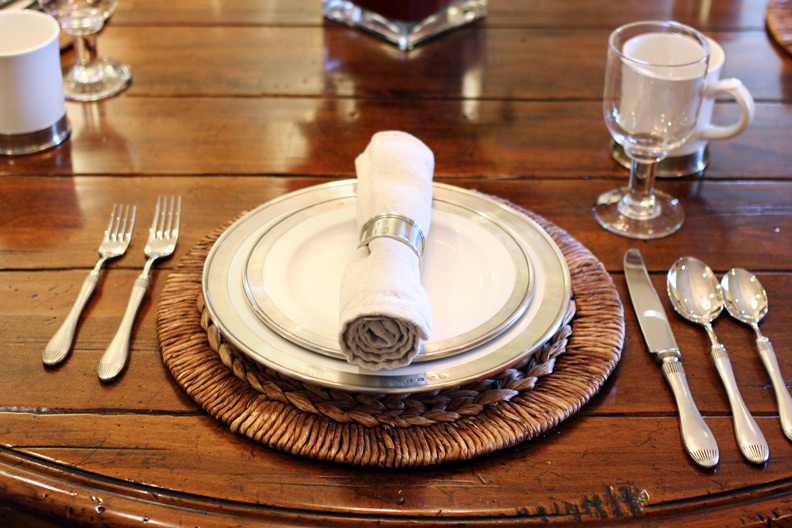 Match Pewter Convivio setting