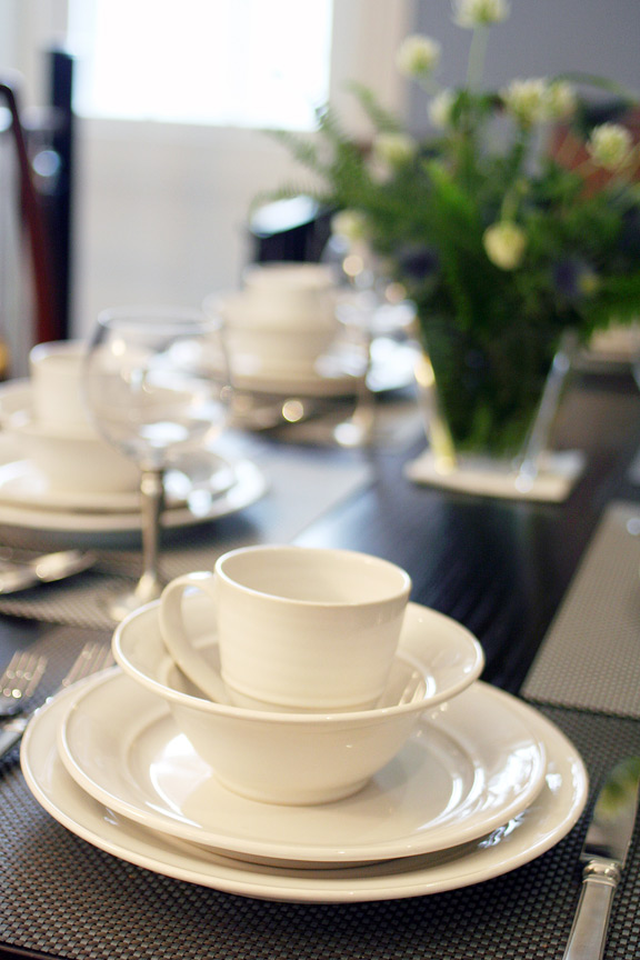 Simon Pearce Cavendish Dinnerware
