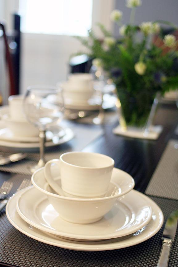 Simon Pearce Cavendish Dinnerware & Boston Uncommon Setting Number 4 - Simple Elegant Balance u2014 Didriks
