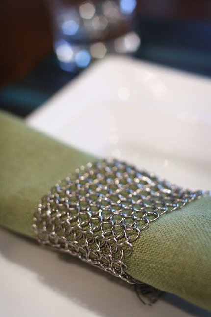 Chilewich Raymaille Napkin Ring
