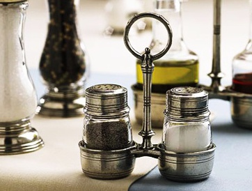 Match Pewter Salt & Pepper Shakers and Caddy pic for blog cover