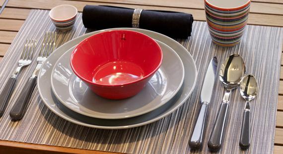 & Table Setting of the Week: Featuring iittala Teema Dinnerware u2014 Didriks