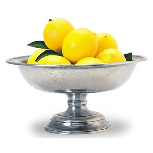 Match Pewter Fruit Compote $252