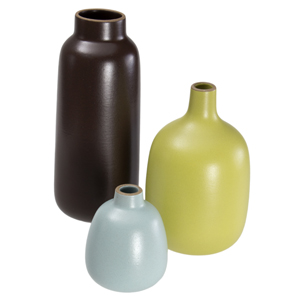Heath Ceramics Vase Trio