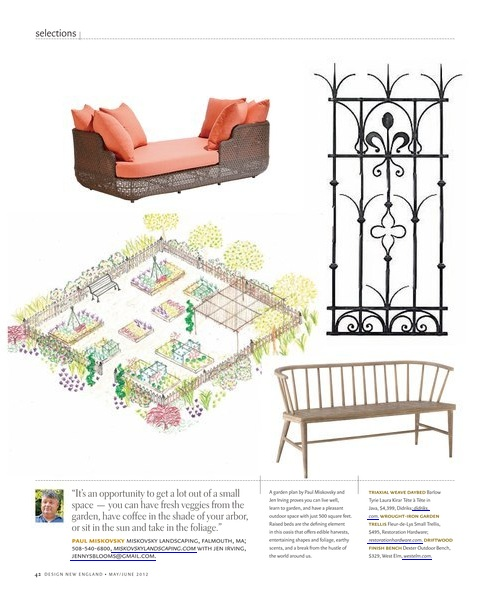 Laura Kirar Daybed Featured in Design New England Magazine