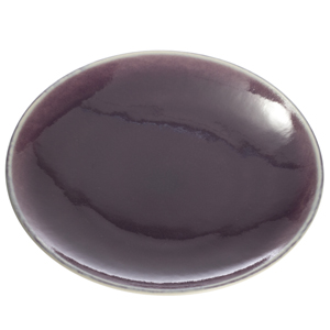 Jars Ceramics Canape Plates: Eggplant