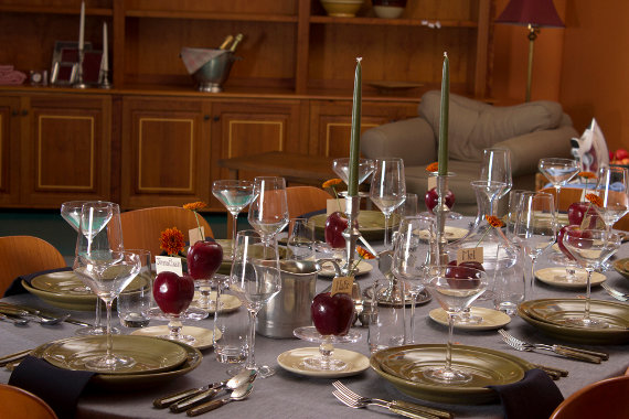 Table Setting: A Peek Into the Past