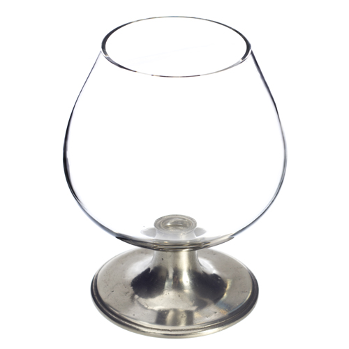 Match Pewter Cognac Glass, Crystal