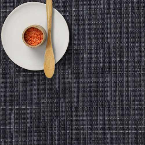 Chilwehich navy bamboo placemat