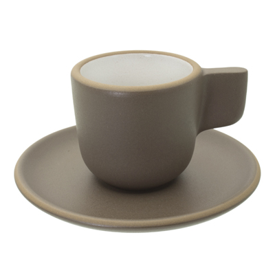 Heath Ceramics Espresso Cup And Saucer Set