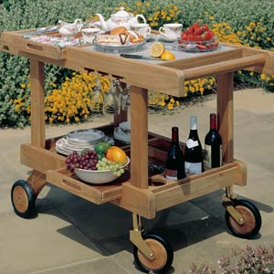 Barlow Tyrie Crichton Serving Trolley