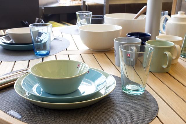 weekly table setting iittala teema didriks. Black Bedroom Furniture Sets. Home Design Ideas