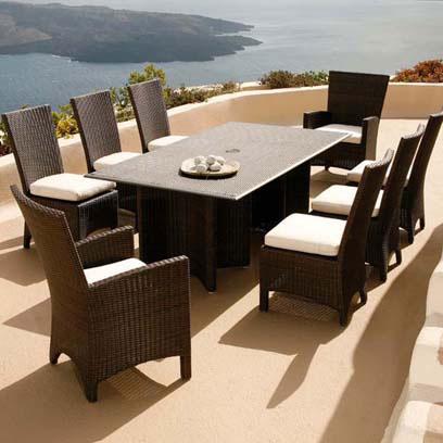 Barlow Savannah Dining Table and Chairs